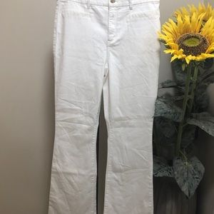 NWT Chico's white jeans size 2